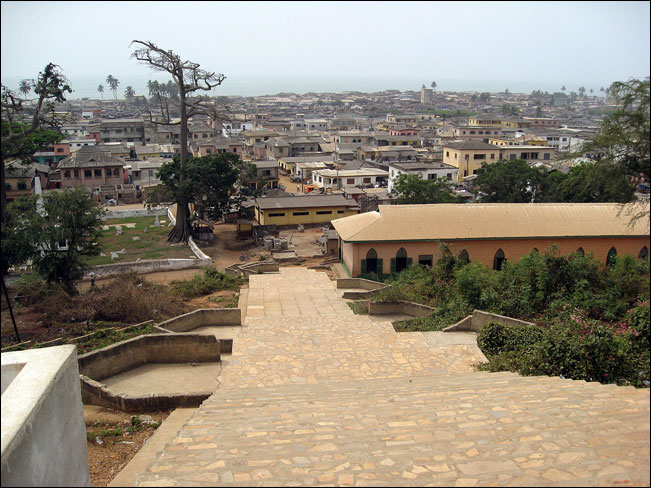 Elmina is a fishing village, it was the first place the missionaries came to when arriving in Ghana