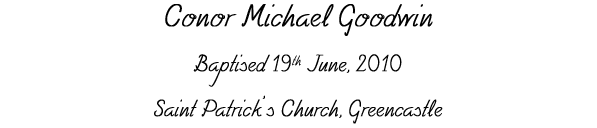 Conor Michael Goodwin