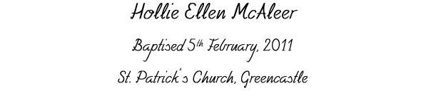 Hollie Ellen McAleer