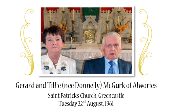 Gerard and Tillie (nee Donnelly) McGurk