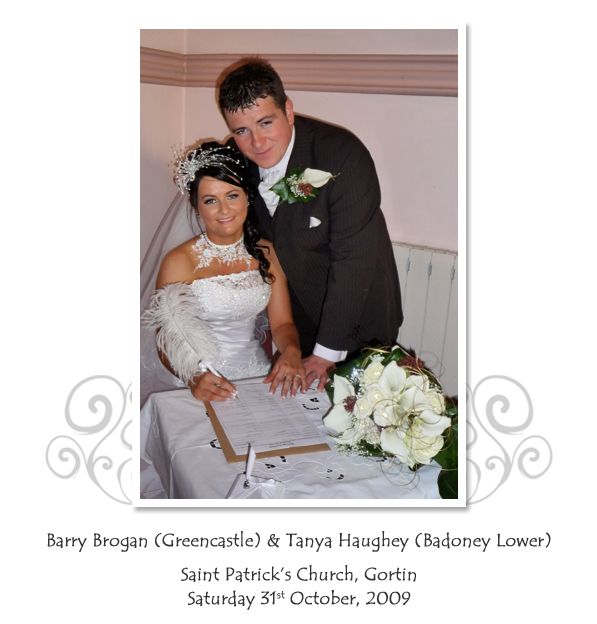 Barry and Tanya Brogan