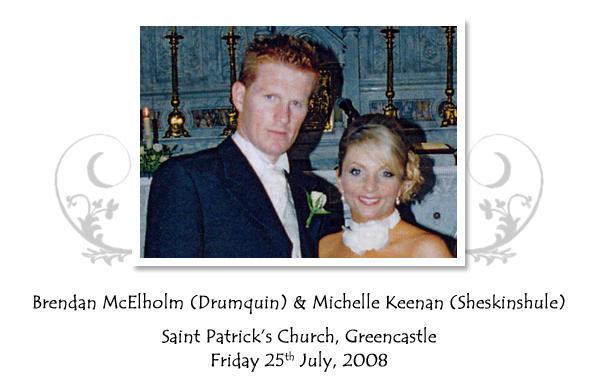 Brendan and Michelle McElholm