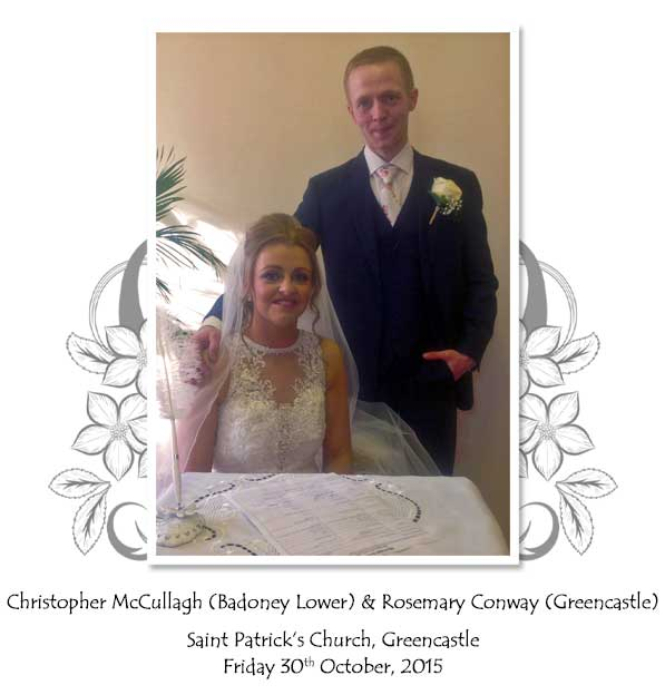 Christopher and Rosemary McCullagh
