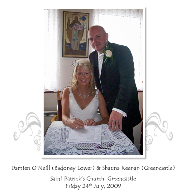 Damien and Shauna O'Neill