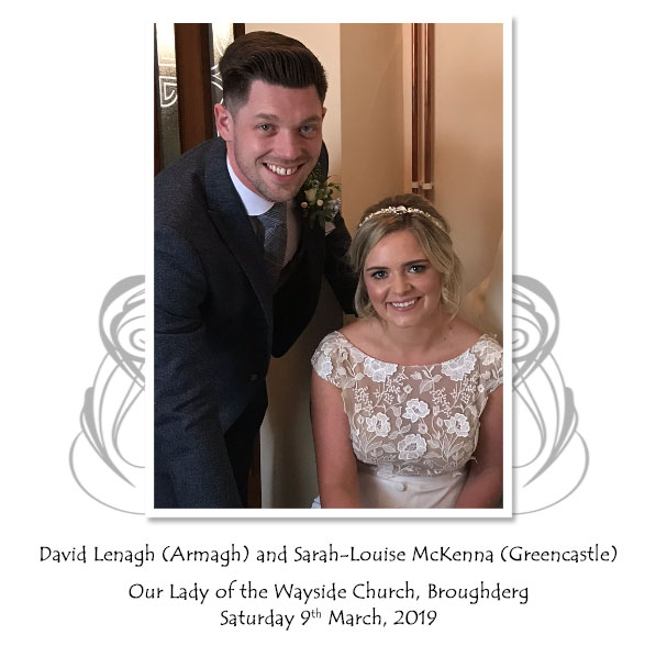 David and Sarah-Louise Lenagh
