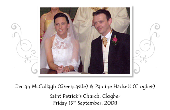 Declan and Pauline McCullagh