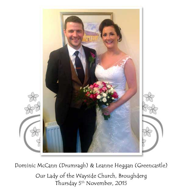 Dominic and Leanne McCann