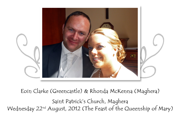 Eoin and Rhonda Clarke