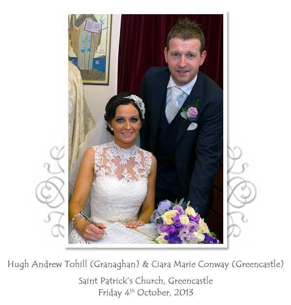 Hugh and Ciara Tohill