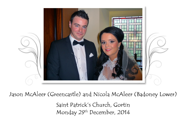 Jason and Nicola McAleer