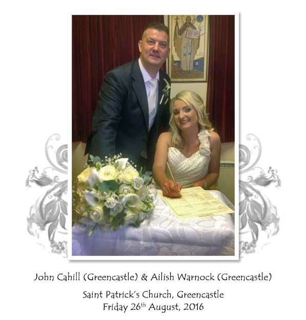 John and Ailish Cahill