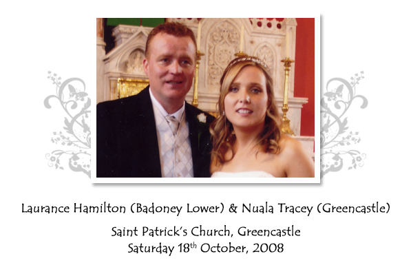 Laurance and Nuala Hamilton
