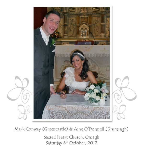 Mark and Aine Conway