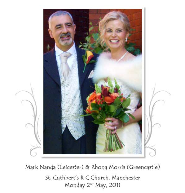 Mark and Rhona Nanda