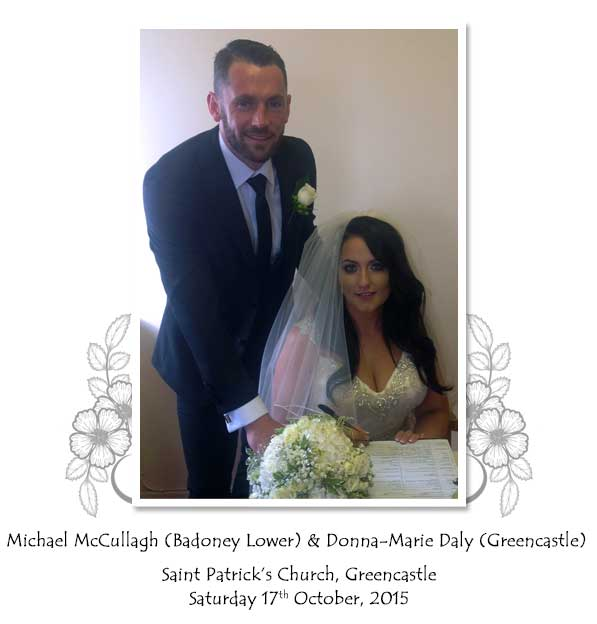 Michael and Donna-Marie McCullagh