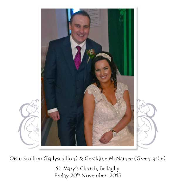 Oisin and Geraldine Scullion