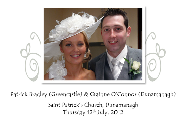 Patrick and Grainne Bradley