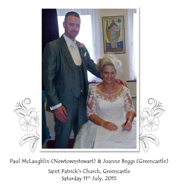 Paul and Joanne McLaughlin