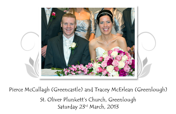 Pierce and Tracey McCullagh