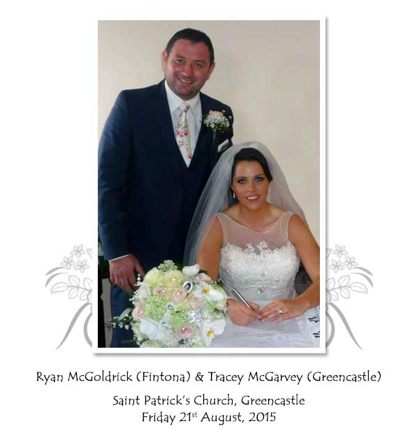 Ryan and Tracey McGoldrick