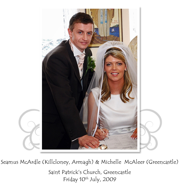 Seamus and Michelle McArdle
