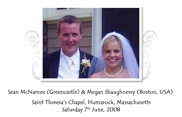 Sean and Megan McNamee