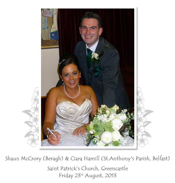 Shaun and Ciara McCrory