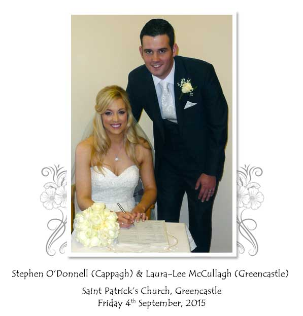 Stephen and Laura-Lee O'Donell