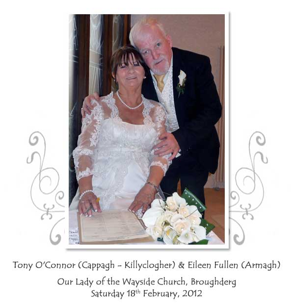 Tony and Eileen O'Connor
