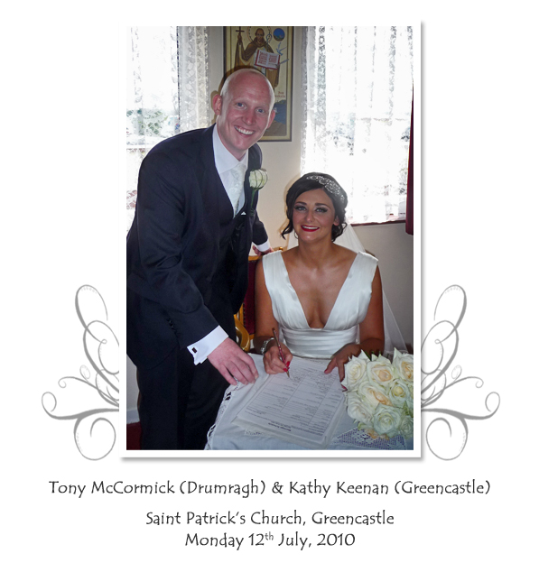 Tony and Kathy McCormick