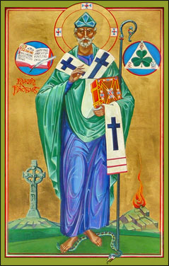 Icon of St. Patrick