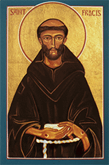 St. Francis of Assisi (Patron Saint of animals and the environment)