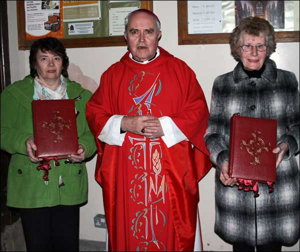 Bishop Séamus Hegarty's Last Official Function as Bishop of the Diocese of Derry