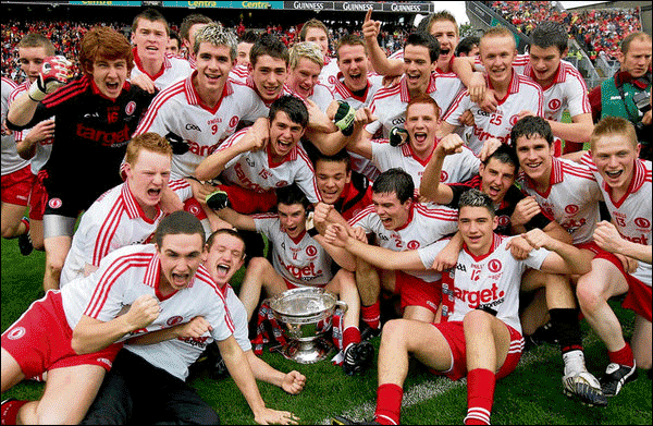[Source] Tyrone Hold Out in Front of Fierce Cork Finale - The Irish Times (Monday 20th September, 2010) - Photograph: Eric Luke