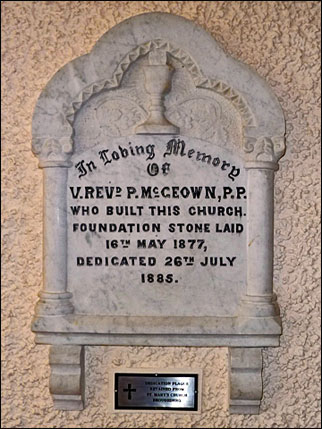 Our Lady of the Wayside Church - In Loving Memory Plaque
